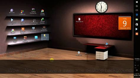 organize room ideas creative 3d desktop background wallpaper windows 10