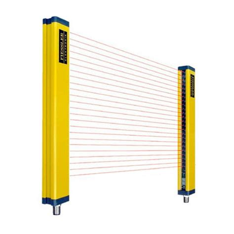 safety light curtain set with brackets one set