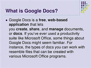 collaborative work with google docs With google documents for work