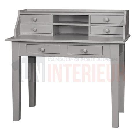 bureau simple pas cher acheter meuble écritoire design pin massif