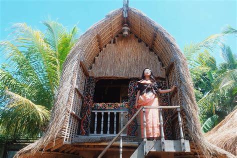 gambar mewarnai rumah adat indonesia