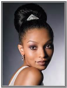 Hairstyles for Black Women Updo with Braids