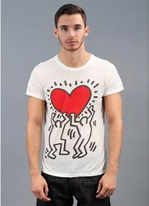 T Shirt Keith Haring : obey x keith haring red heart t shirt white ~ Melissatoandfro.com Idées de Décoration