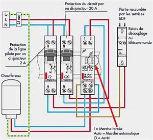 Branchement Contacteur Chauffe Eau : alimenter un chauffe eau avec le tarif nuit sch ma le blog du plombier ~ Voncanada.com Idées de Décoration