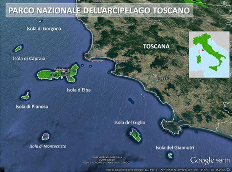 parco nazionale dellarcipelago toscano italiano