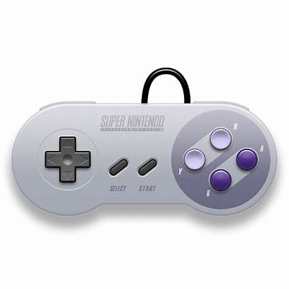 Controller Nintendo Snes Super Clipart Gaming Famicom