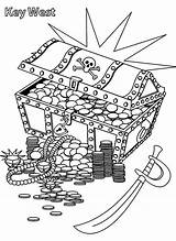 Pirate Coloring Treasure Pages Chest Box Cartoon Pirates Drawing Hunt Printable Marks Kindergarten Getdrawings Adults Pdf Getcolorings Boys sketch template