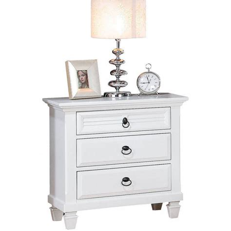 Wide White Nightstand by Nightstand Bedroom Stunning 30 Inches Inch High