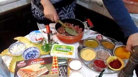 cuisine tunisienne arabe lasagne recette tunisienne لازانية على الطريقة التونسية