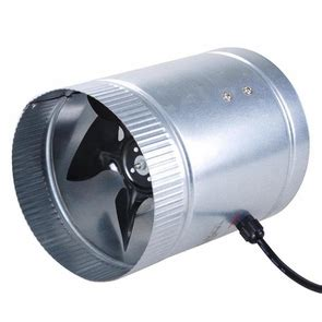 Inline Duct Booster Vent Fan Blower 6 Inch 260 Cfm Wmetal