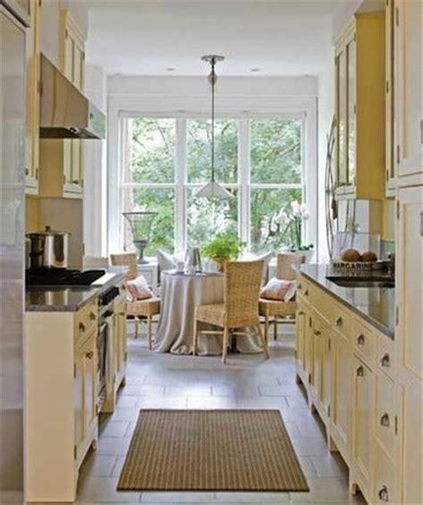 galley kitchen design ideas  gorgeous spaces bob vila