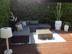 Salon De Jardin Terrasse : salon de jardin terrasse id es de d coration int rieure french decor ~ Teatrodelosmanantiales.com Idées de Décoration