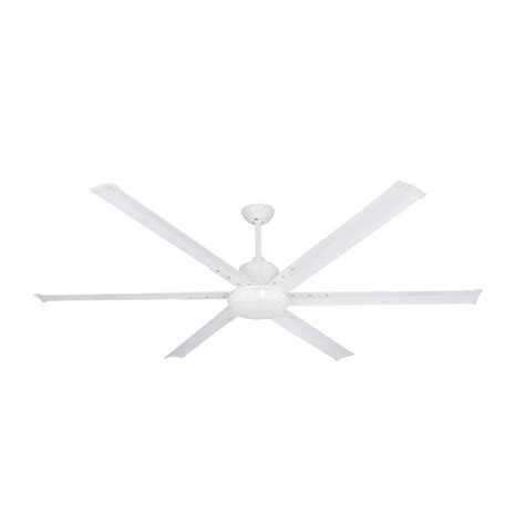 72 ceiling fan with light troposair titan 72 in indoor outdoor pure white ceiling