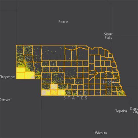 nebraska  oil gas threat map