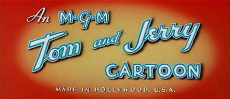 An Mgm Tom And Jerry Cartoon