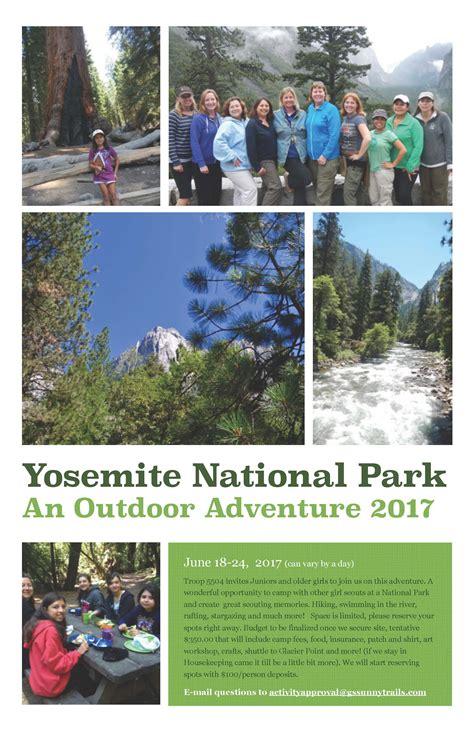 Yosemite National Park June 2017 Sunnytrails Girl