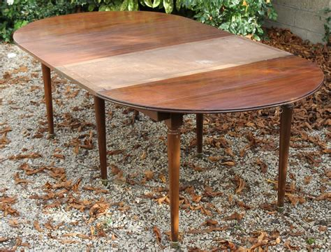 table de salle 224 manger 224 allonges en acajou style louis xvi magasin brost