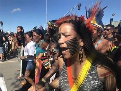 Indigenous Brazil Exist Right Resisting Far Native