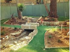 Backyard minigolf Flickr Photo Sharing!