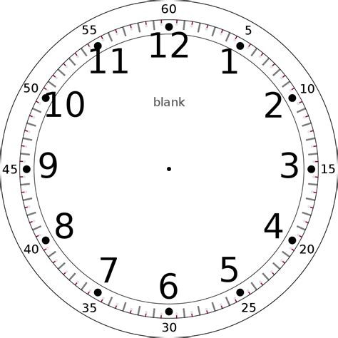 numeral clock worksheets file custom clock template base svg