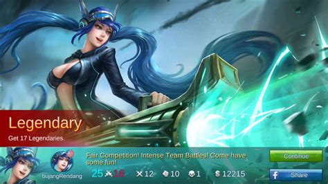 Mobile Legends Mvp Legendary Realtime Gameplay With Best