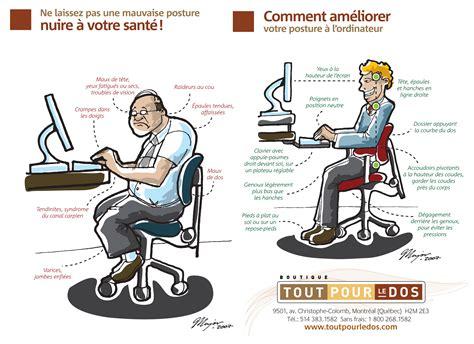 position ergonomique au bureau chaise pour bureau pas cher