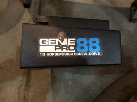 program genie pro  screw drive door opener doityourselfcom community forums