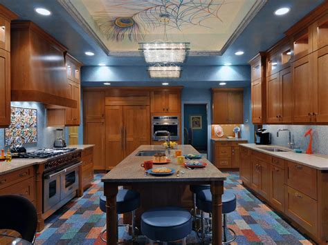 Try painting the molding a different color than the ceiling to draw attention to the detail and make it a little more dramatic. 3 Design Ideas to Beautify your Kitchen Ceiling ...