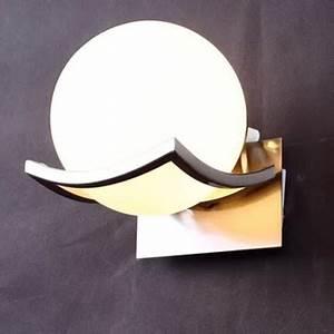 Applique Murale Salon : led applique murale de boule de verre pour le salon ~ Premium-room.com Idées de Décoration
