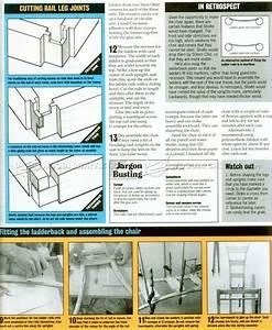 Bedroom Chair Plans • WoodArchivist