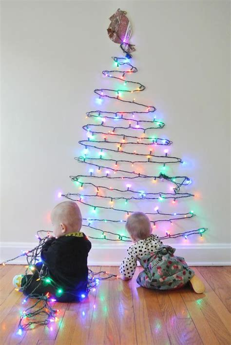 25 simple and creative christmas trees in the wall house