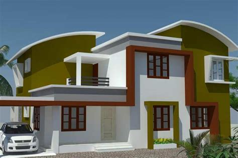 cat exterior rumah minimalis hijau rumah mini