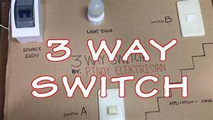 3 Way Switch Wiring  Tagalog