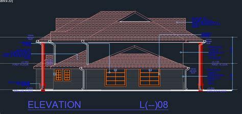 business center  dwg design elevation  autocad