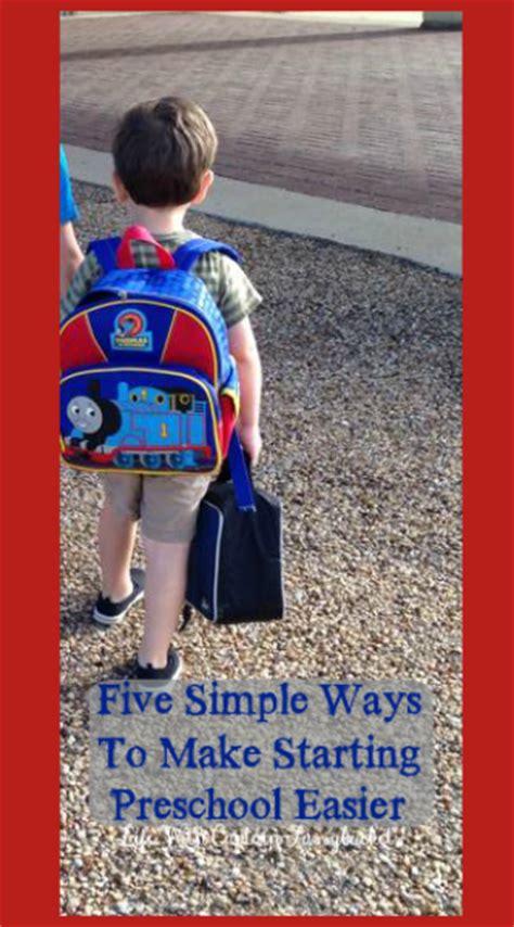 five simple ways to make starting preschool easier 952 | starting preschoolo