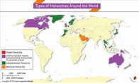 What are the types of Monarchies around the World? - Answers
