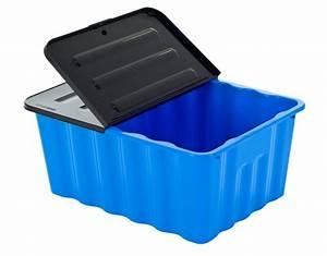 Aufbewahrungsbox Mit Deckel Stoff : kunststoffbox box lagerbox aufbewahrungsbox regalbox kiste mit deckel 48 liter ebay ~ Watch28wear.com Haus und Dekorationen
