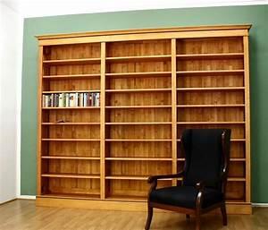 Bücherregal Erle Massiv Geölt : b cherregal massivholz im biedermeierstil 250x300x35cm ~ Indierocktalk.com Haus und Dekorationen