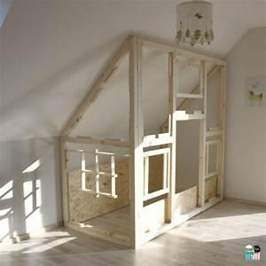 Hausbett Selber Bauen : diy ein hausbett im kinderzimmer chellisrainbowroom ~ Michelbontemps.com Haus und Dekorationen