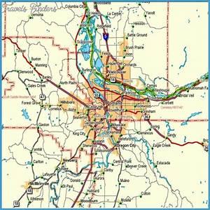 Oregon Metro Map - TravelsFinders.Com