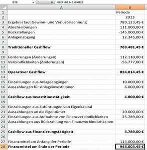 Perioden Berechnen : cashflow rechnung mit excel ~ Themetempest.com Abrechnung