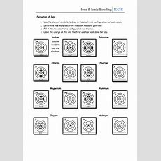 Ions & Ionic Bonding Worksheet By Csnewin  Teaching Resources