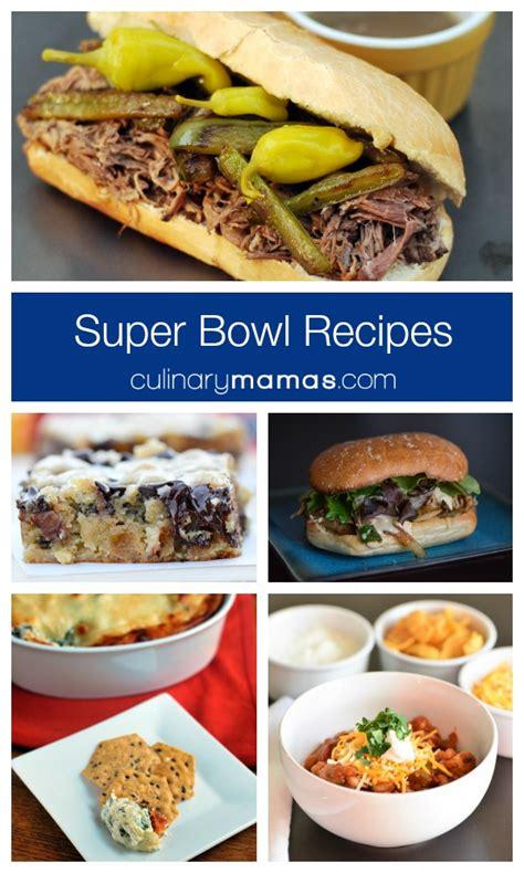 superbowl food super bowl recipes
