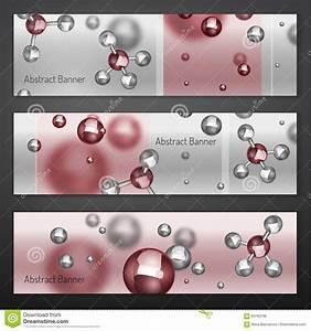 Molecular Structure Of Air Molecules Vector Illustration