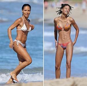 Jada Pinkett gives daughter Willow Smith a good run as ...