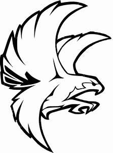 Falcon B/w PNG, SVG Clip art for Web - Download Clip Art ...