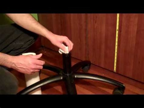 office chair keeps sinking how to fix office chair that keeps sinking pvc pipe