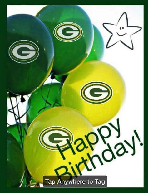 The player to their left then rolls the die & the game continues like this. Happy Birthday | Green Bay Packers | Pinterest | Happy birthday, Packers and Birthdays