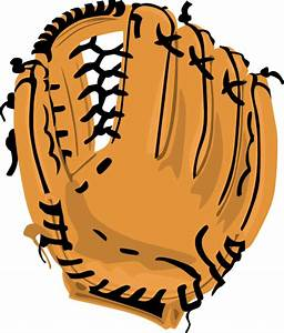 Baseball Glove 2 Clip Art at Clker.com - vector clip art ...