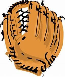 Baseball Glove 2 Clip Art at Clker.com - vector clip art ...